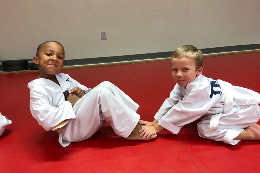 little tigers preschool children taekwondo classes